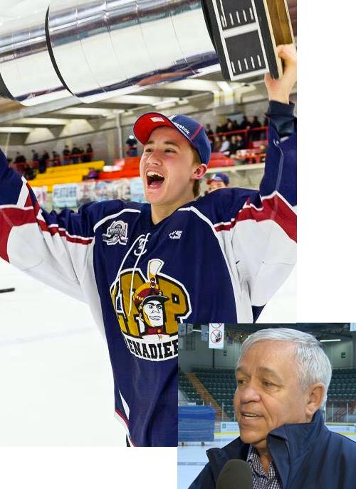 Georges Marien - Ligue Midget AAA du Québec