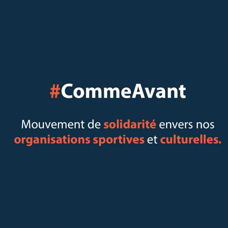 #CommeAvant
